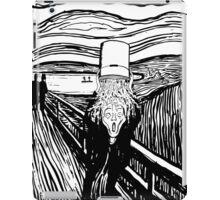 Scream Bucket Challenge iPad Case/Skin