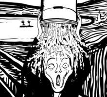 Scream Bucket Challenge Sticker