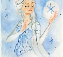 Elsa - Frozen by Mattie Watkins