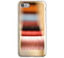 spools of thread iPhone Case/Skin