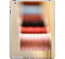 spools of thread iPad Case/Skin