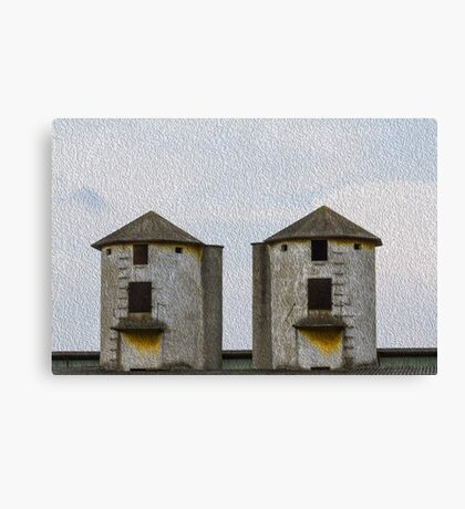 disused factory Canvas Print