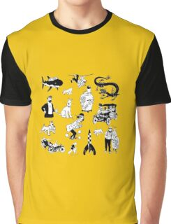 tintin collection Graphic T-Shirt