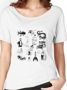 tintin collection Women's Relaxed Fit T-Shirt