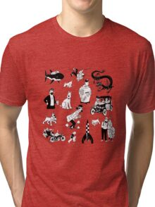 tintin collection Tri-blend T-Shirt