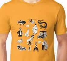 tintin collection Unisex T-Shirt