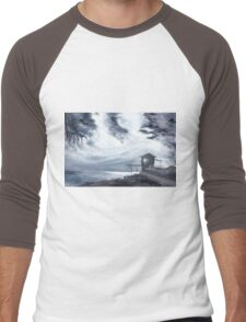 Moon Light New Men's Baseball ¾ T-Shirt