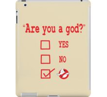 GOD? iPad Case/Skin