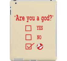 GOD? iPad Case/Skin