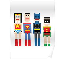 Justice League Squared MKi Poster