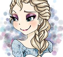 Elsa of Arendelle (chibi version) by Reinafashion