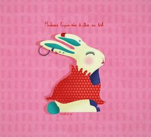 Madame Lapin, Madam Rabbit by annelyse