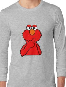 Elmo is Out of Fucks to Give Long Sleeve T-Shirt