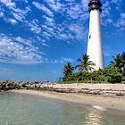 Cape Florida Lighthouse by njordphoto