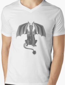 Order of the Dragon: Grey Mens V-Neck T-Shirt