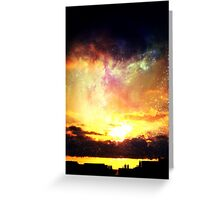 Canarian Sky 2 Greeting Card