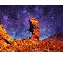 First to the Stars Photographic Print