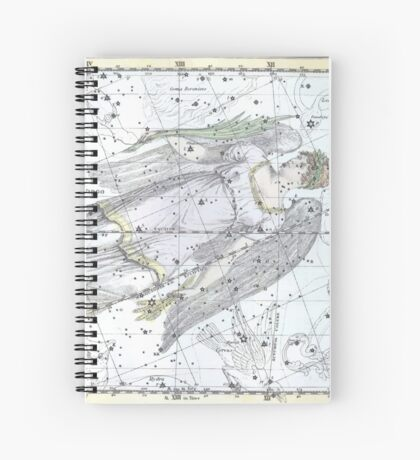 Celestial Virgo (1822) Spiral Notebook