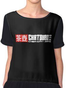 Neuromancer Cyberpunk Chatsubo Bar Chiba City Chiffon Top