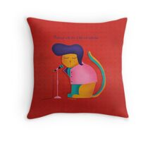 Monsieur Chat, Mister Cat Throw Pillow