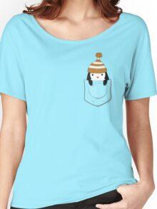 Pocket Penguin Women's Relaxed Fit T-Shirt