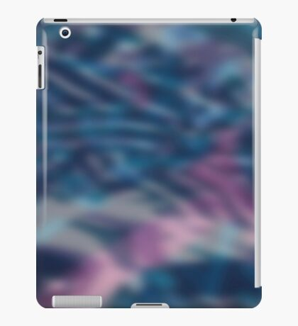Abstract blurring background iPad Case/Skin