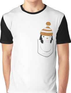 Pocket Penguin Graphic T-Shirt