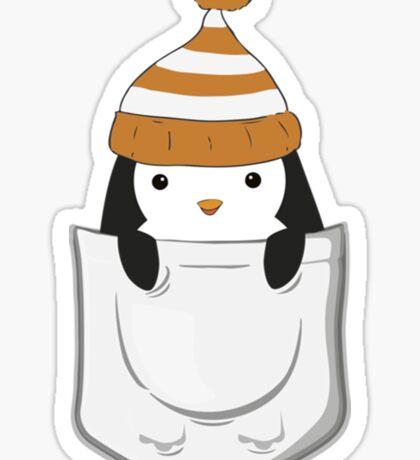 Pocket Penguin Sticker