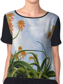 Aloe blooms 42 Chiffon Top