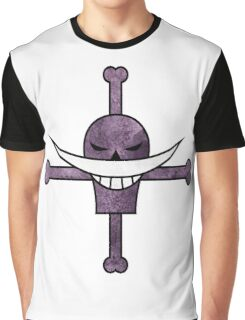 whitebeard pirates jolly roger   Graphic T-Shirt