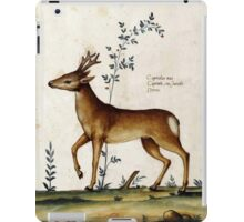The Italian Deer (16th Century) iPad Case/Skin