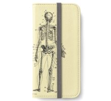 Anatomy: The Skeletal System Ver.Bone iPhone Wallet/Case/Skin