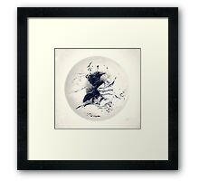 Raven Prevails Framed Print