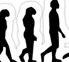 Volleyball Set Evolution Sticker