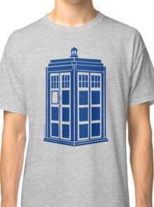 Colour Me Tardis Classic T-Shirt