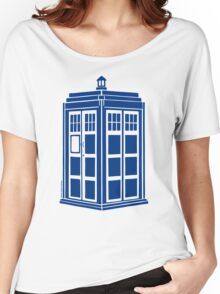 Colour Me Tardis Women's Relaxed Fit T-Shirt