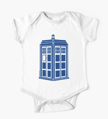 Colour Me Tardis One Piece - Short Sleeve
