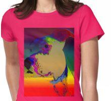 H~MAN~ PIT BULL POP ART Womens Fitted T-Shirt