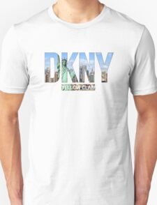 DKNY Yellow Claw - Tranparent T-Shirt