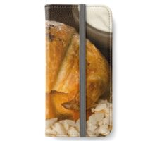 Chocolate filled croissant pastry snack iPhone Wallet/Case/Skin