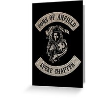 Sons of Anfield- Speke Chapter Greeting Card