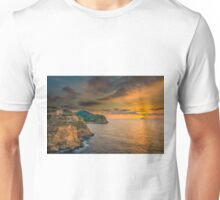 Sunrise north of Villajoyosa Unisex T-Shirt