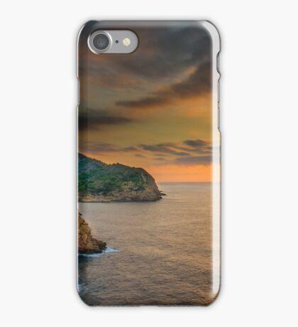 Sunrise north of Villajoyosa iPhone Case/Skin