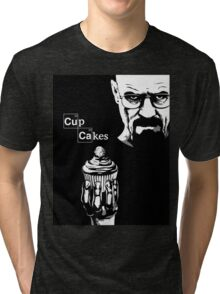 Breaking Bad on Cupcakes Tri-blend T-Shirt
