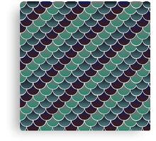 Aquatic Scales Canvas Print
