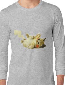 Pikachu Cat Long Sleeve T-Shirt