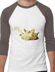 Pikachu Cat Men's Baseball ¾ T-Shirt