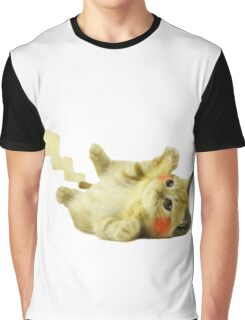 Pikachu Cat Graphic T-Shirt