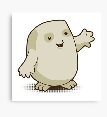 Adipose Army Canvas Print
