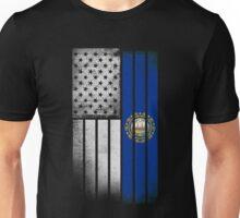 USA Vintage New Hampshire State Flag Unisex T-Shirt